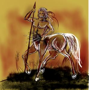 Quiron - desenho 2